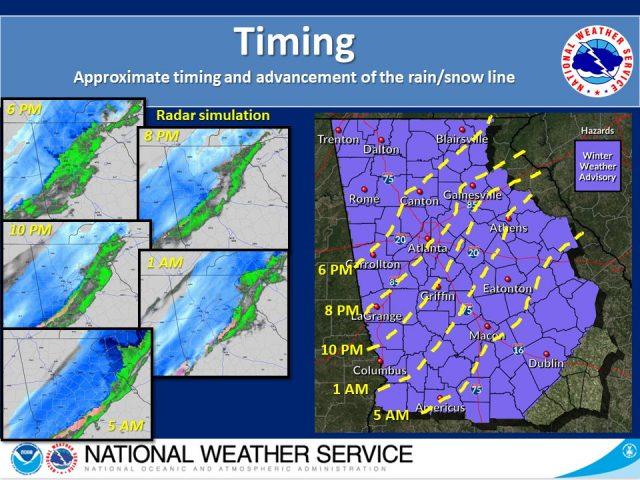 亚城周边城市因天气恶劣,气温骤降,恐有小雪,周三部分学校停课!