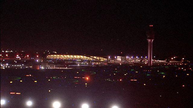 达美航空284航班 周二晚上7点过后在亚特兰大机场起飞 (Photo via WSBTV.com)