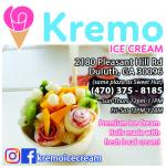 Kremo Ice Cream 炒冰淇淋