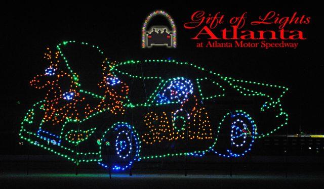 gift-of-lights-atlanta-motor-speedway-car