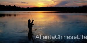 fishing lake