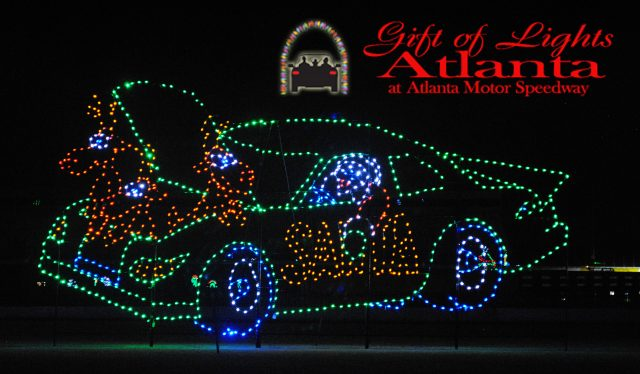 gift-of-lights-atlanta-motor-speedway-car