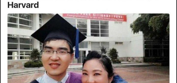 外国网友惊叹:中国单亲妈妈送脑瘫儿子上哈佛(组图)