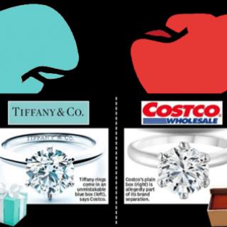 Costco 卖假的 Tiffany 戒指?法官判定 Costco 要赔偿 Tiffany 1900多万美元!