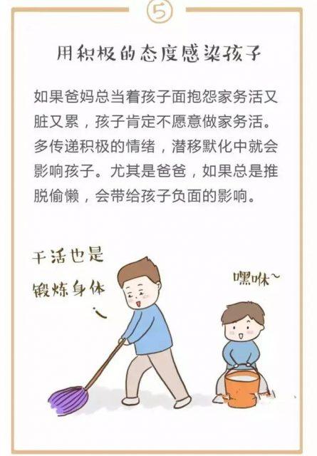 儿童做家务年龄对照表,舍不得用孩子才害了他