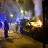 事情闹大了!佐治亚理工学院 部分学生暴动烧警车