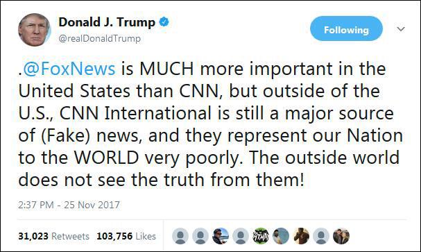 CNN拒绝参加白宫圣诞晚宴,白宫发言人的回应绝了!