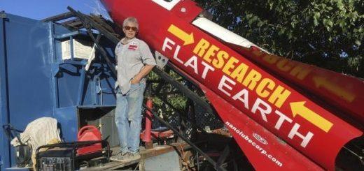 不信地球是圆的 美国男子自制火箭要上太空看地球