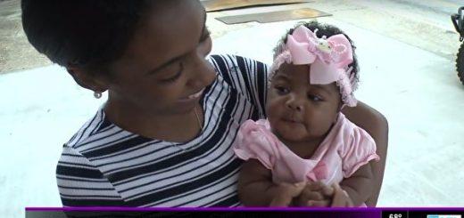警察救了小宝宝的性命 没想到他的人生也因此改变