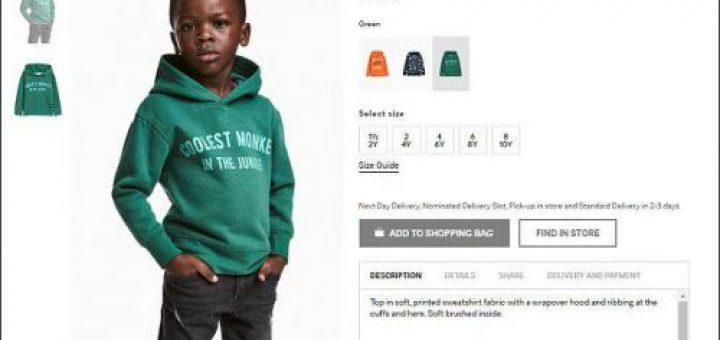 你觉得这是种族歧视吗?这些美国人是不是太敏感了?H&M也没躲过这一劫!
