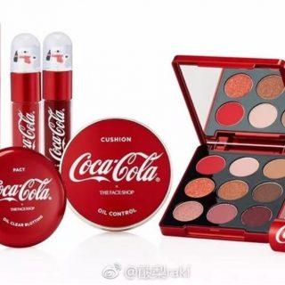 总部在亚城的可口可乐出彩妆了,跨界玩出新高度