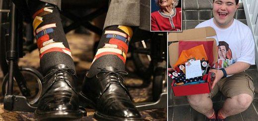 让美国前总统老布什也喜爱的小袜子,创始人是这个大男孩儿!