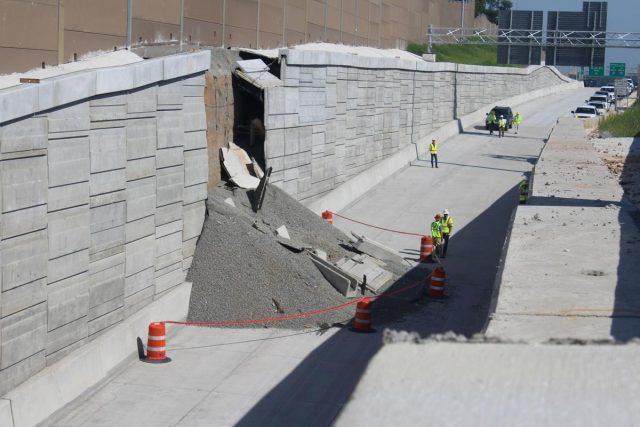 交通|亚城I-75高速墙倒了!耗资8亿快速车道进度再推迟