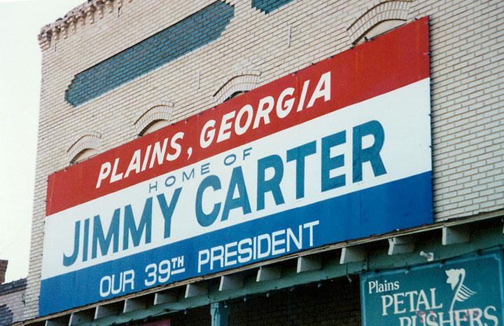 美国前总统吉米·卡特:心有猛虎细嗅蔷薇