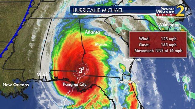 """佐州92县处""""紧急状态"""" 飓风升至四级 成百年来登陆佐州的最大飓风"""