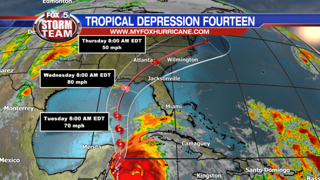 Tropical Depression 14