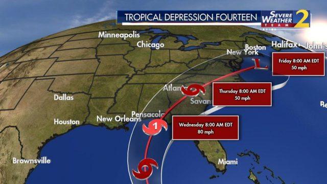 热带风暴即将升级转飓风,佐州恐受影响,邻州已宣布全州处于紧急状态