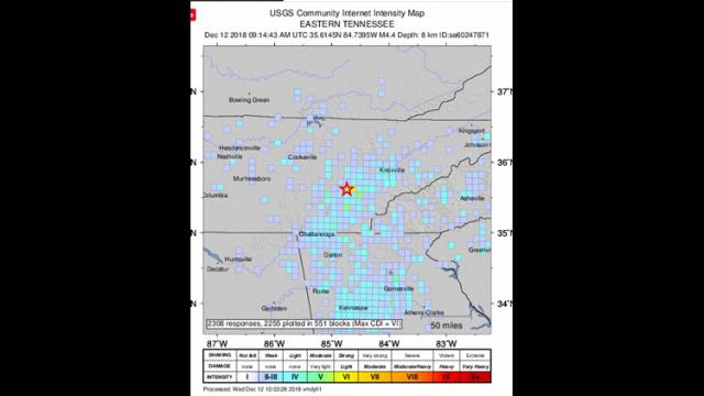 亚城今早的地震你感觉到了吗?据说这是咱邻州有史以来发生的第二大强烈地震!