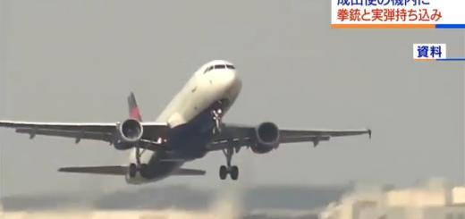 美国女乘客带枪坐飞机 被日本禁止入境又飞回美国