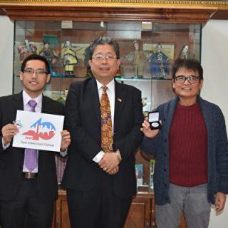 """""""2019 台北-亚特兰大姊妹市40周年Logo""""揭晓"""