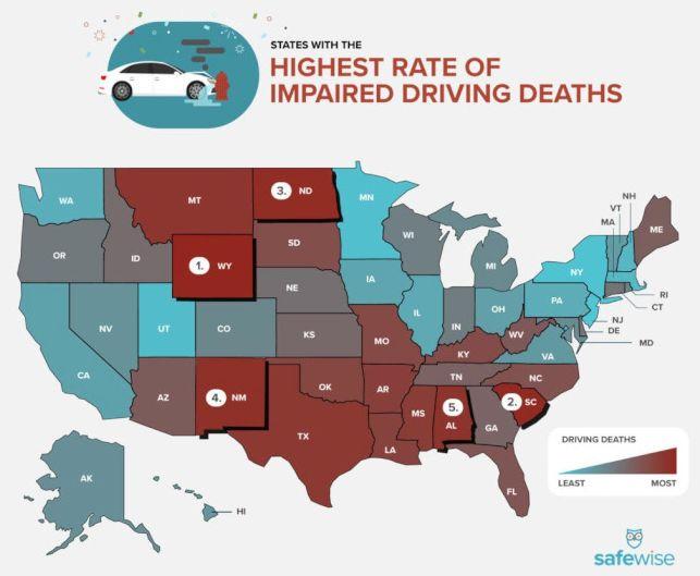 乔州在全美最差驾驶州排名第15!超速、酒驾、分神是三大主因
