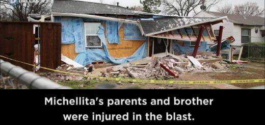 家中燃气突然爆炸 美国女孩自拍录下人生最后瞬间