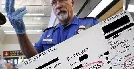 登机牌上有这个神秘记号 你被盯上了