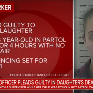 女警官同上司发生关系,3岁女儿困在巡逻车内4小时被热死