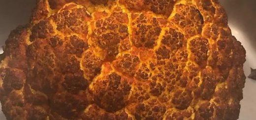 """""""朋友把菜花用火烤了,结果得到一坨爆炸的蘑菇云……"""""""
