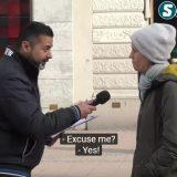 瑞典街头,每个人都愿接受难民!当难民站到他们面前,画风全变了!