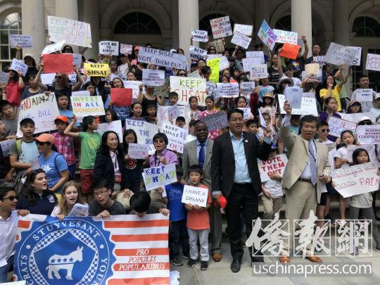 近六成纽约人希望改革特殊高中考试招生制度