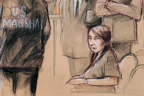闯海湖庄园中国女子被大陪审团起诉 没有间谍罪名
