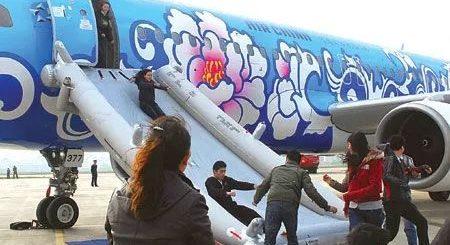 空中惊魂,上海飞纽约波音客机3万尺高空直降,吓得想写遗嘱