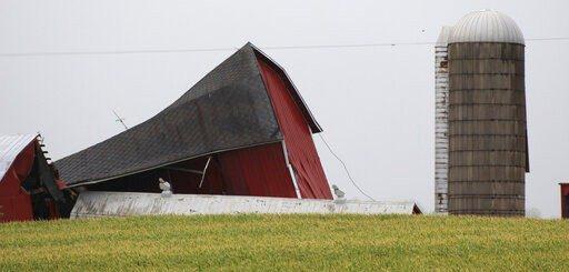 19场龙卷风侵袭南部四州后 数百万人将面临暴洪威胁