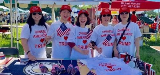 Johns Creek国际节,挺川的亚城华人和Fulton郡共和党造势宣传 现场圈粉众多!