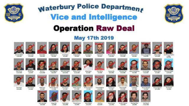 警方突袭 康涅狄格州捕51人缴枪支现金和毒品