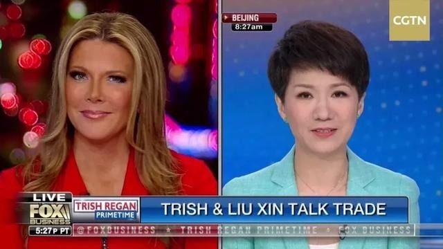 福克斯女主播再次邀请参加节目 刘欣回应:非常愿意