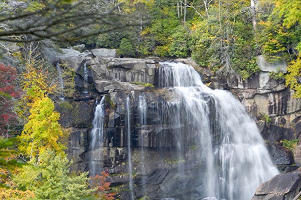 乔治亚、北卡州9个必看瀑布
