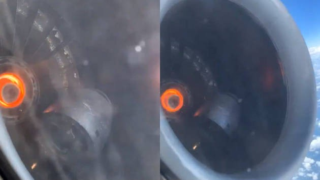 机舱满是烟雾 达美航班引擎空中损坏紧急降落