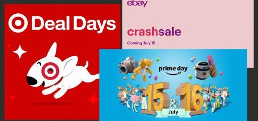 Target, eBay宣布大促销!下周不只有亚马逊Prime Day