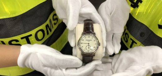男子带百达翡丽手表深圳入境被查 价值¥275万