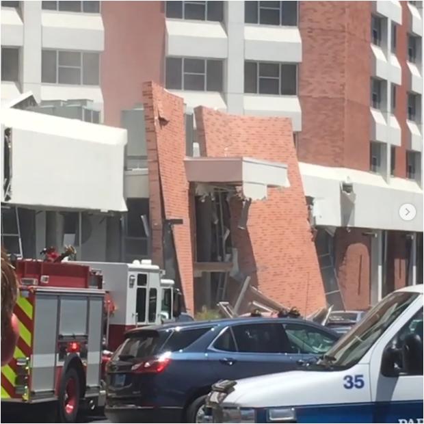 内华达大学设施爆炸致宿舍楼部分倒塌 8人受伤
