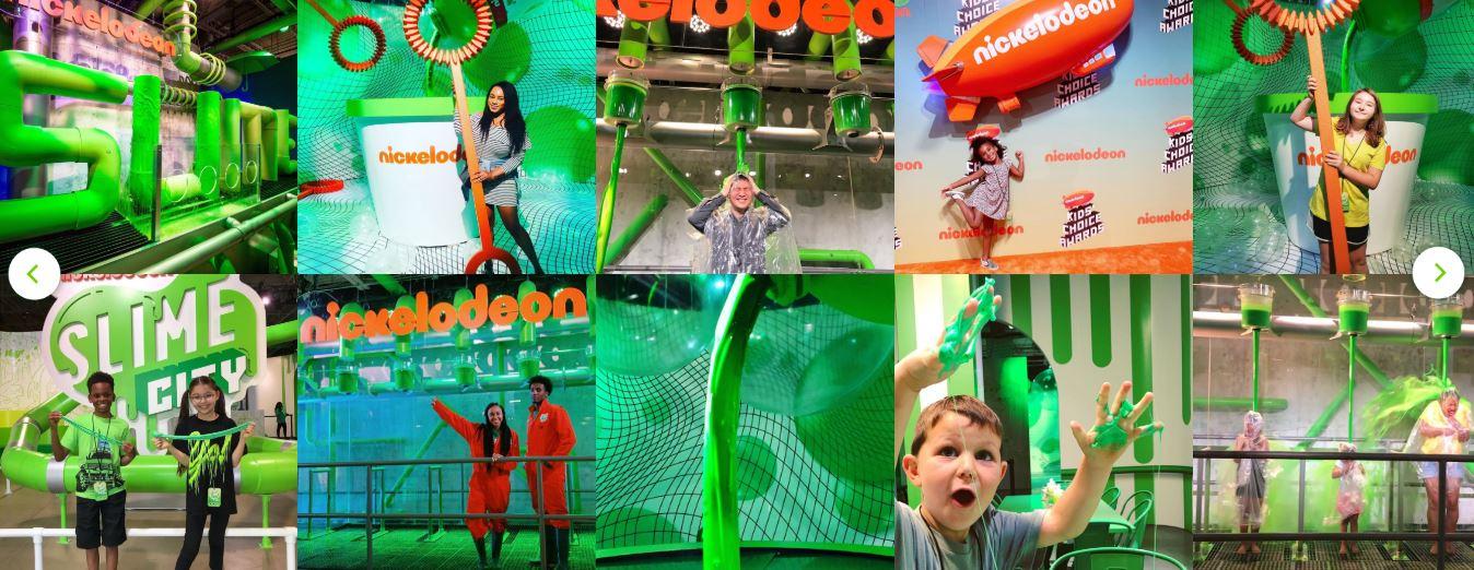 Nickelodeon Slime City Atlanta