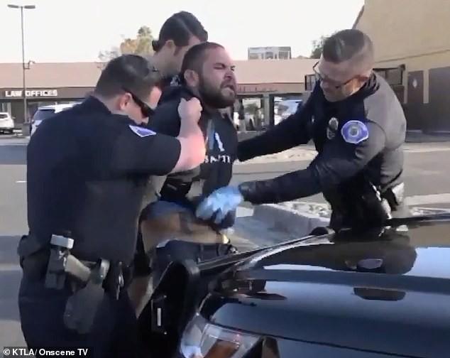 加州男子两小时内挥刀砍杀4人 抢来手枪再行凶前被警方制伏