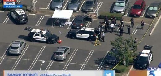 华裔退休教工在加州一大学遇刺身亡 亚裔嫌犯在逃