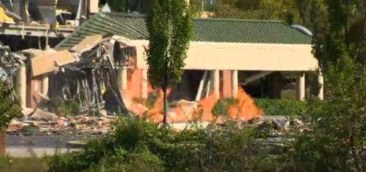 马里兰一购物中心发生严重煤气爆炸 所辛无人伤亡
