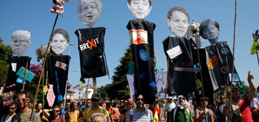 各国领袖抵达G7峰会 约翰逊称将劝川普缓解美中贸易战
