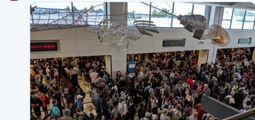 全美海关电脑大宕机 入关大排长龙 纽约、LA多机场受影响