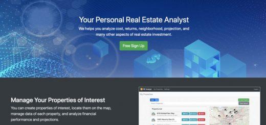 好消息:小编团队开发的MZ地产投资房分析网站 RE-Analyst.com 正式上线