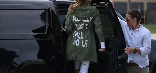 """梅拉尼娅9/11着装再引发争议 白宫:""""荒谬"""""""